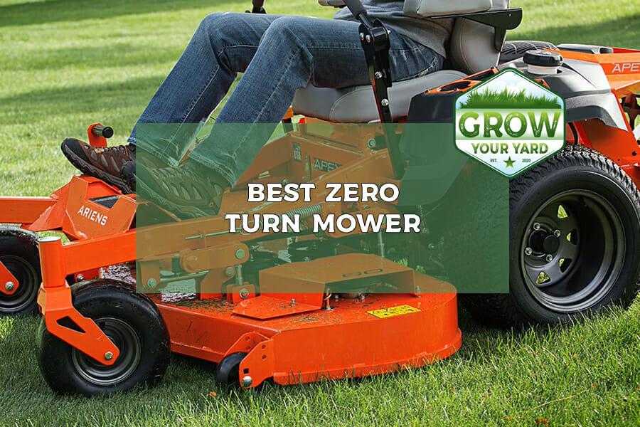 best zero turn mower